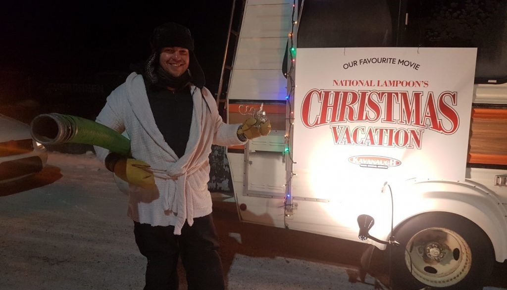 Yellowknife Christmas Parade Commercial Winner - Uncle Eddie